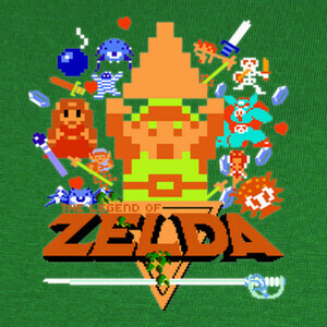 Camisetas The Legend of Zelda