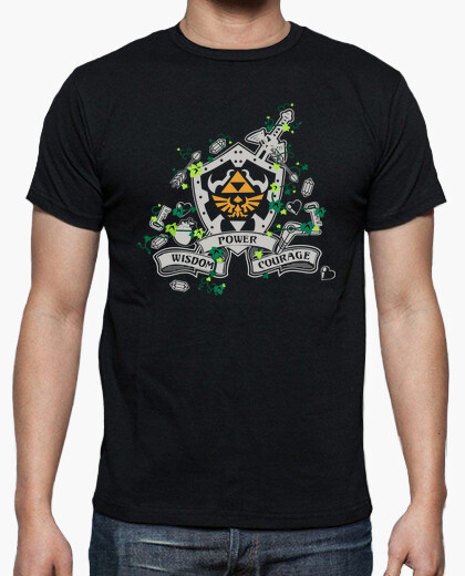 The legend of zelda 25th aniversary front t-shirt