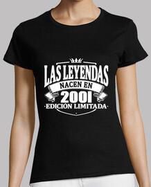 the legends are born in 2001
