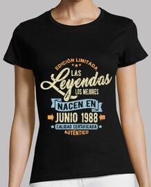 the legends are born in June 1988
