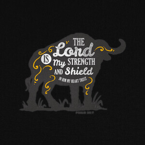 Camisetas The Lord is my Strength