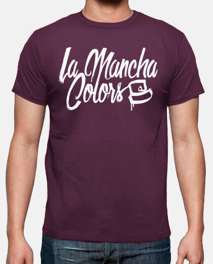 the mancha colors white man
