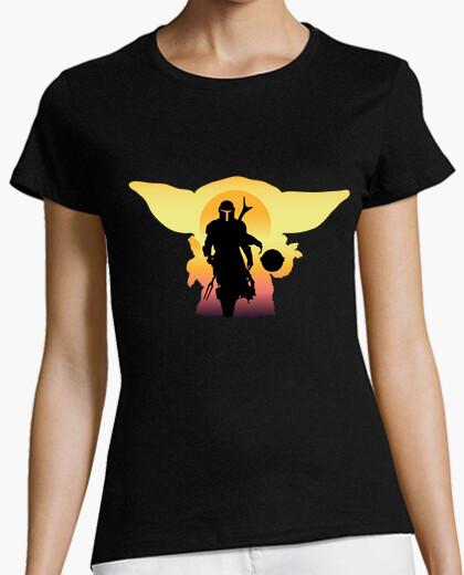 Camiseta The Mandalorian 2, Mujer