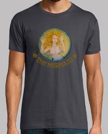 THE MERMAID - camiseta chico-marrón