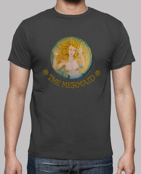 THE MERMAID - camiseta chico-marrón