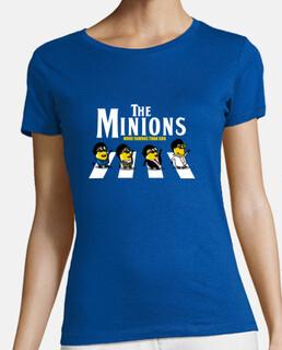 the minions - woman t-shirt - woman t-shirt