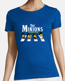 the minions - woman t-shirt - woman t-shirt