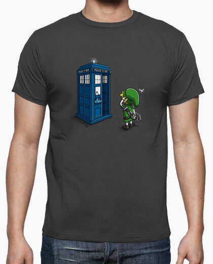 The ocarina of time travel t-shirt