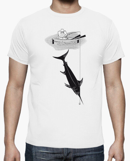 The old man and the sea (ernest hemingway) t-shirt