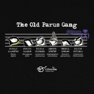 Camisetas The Old Parus Gang (fondos oscuros)