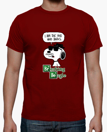 Breaking Beagle I Am The One Who Barks T-shirt