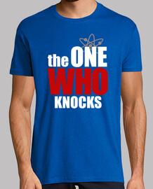 the one who knocks (white)