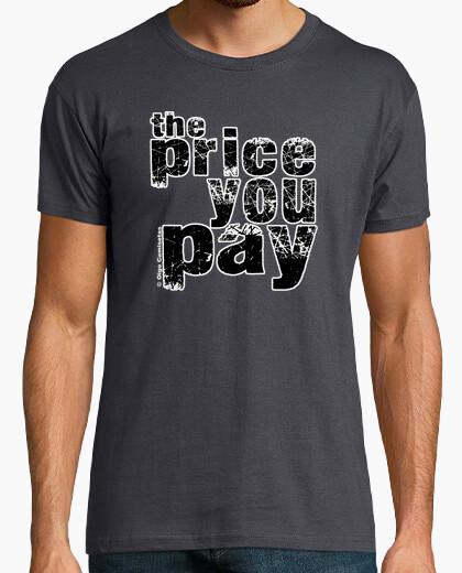 Camiseta THE PRICE YOU PAY black