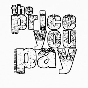 Tee-shirts THE PRICE YOU PAY white