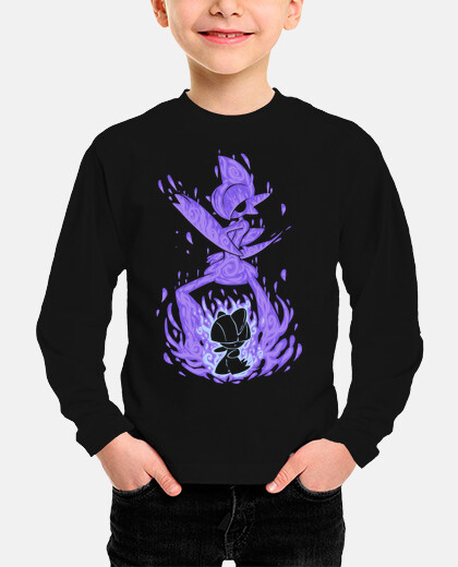 The Psychic Knight Within - Kids Long Sleeve