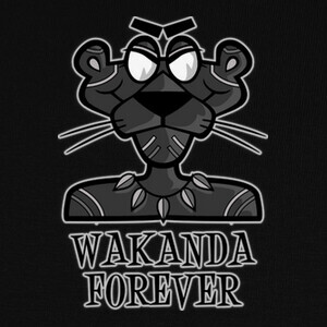 Camisetas THE REAL BLACKPANTHER