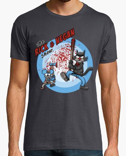 Camiseta The rick and negan show