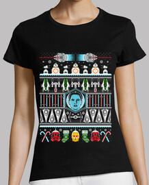 the rise of christmas camiseta para mujer
