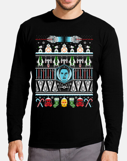 the rise of christmas long sleeved t-shirt