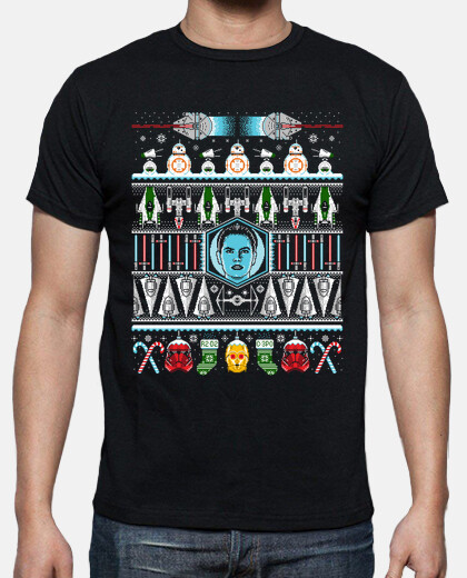 the rise of christmas mens t-shirt