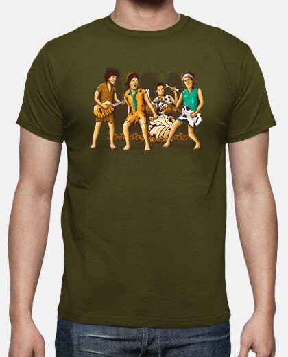 Camisetas The Rolling Flintstones