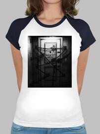 The Room - Camiseta estilo béisbol para chica