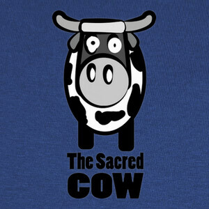 Camisetas The sacred cow