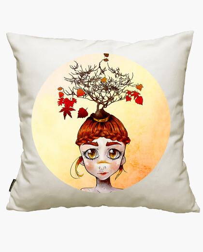 The sadness autumn cushion cover
