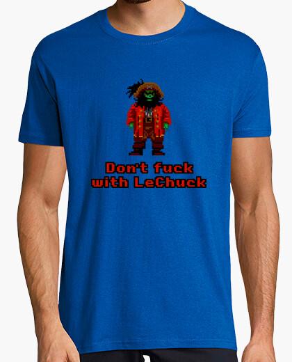 Camiseta The Secret of Monkey Island: Don't fuck with LeChuck
