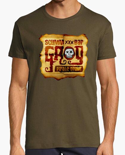 Camiseta The Secret of Monkey Island: Grog