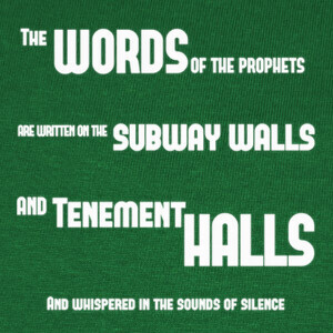Camisetas The Sounds of Silence