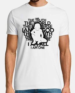 the truth - black version - man t-shirt