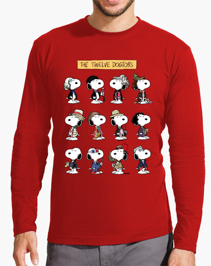 The Twelve Dogtors Long Sleeve Shirt for Adults