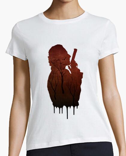 Tee-shirt the walking dead rick grimes T-shirt femme