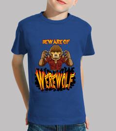 The werewolf -  Niño Manga corta