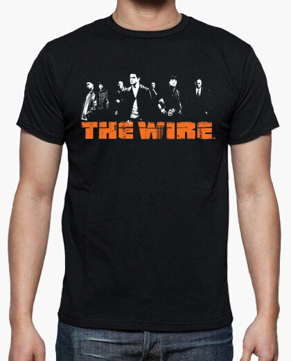 Camiseta THE WIRE characters