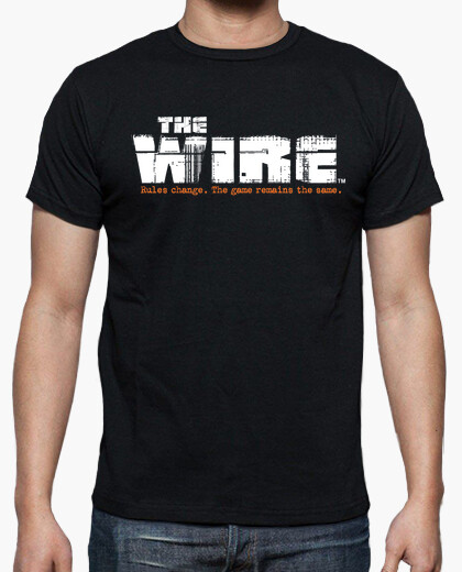 Camiseta THE WIRE rules change
