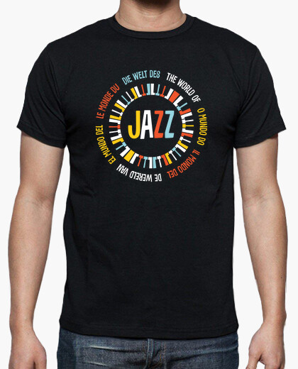 The World Of Jazz-El Mundo Del Jazz-Le M t-shirt
