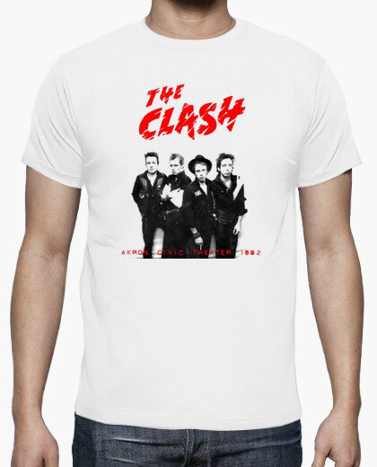 Camiseta THECLASH07