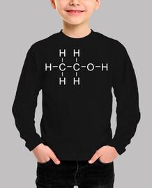 Théorie du big bang alcool molécule