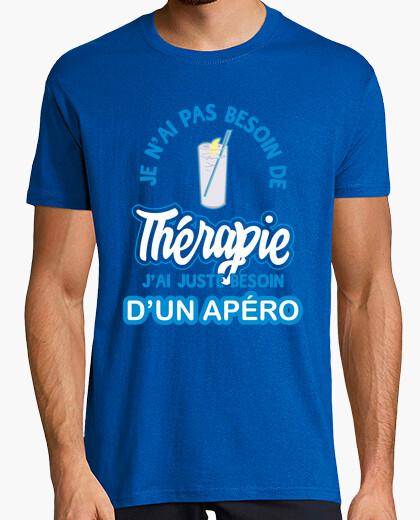Tee-shirt Thérapie apéro