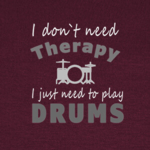 Camisetas Therapy play Drums