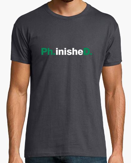 Tee-shirt thèse vert