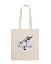 thin shoulder redshank