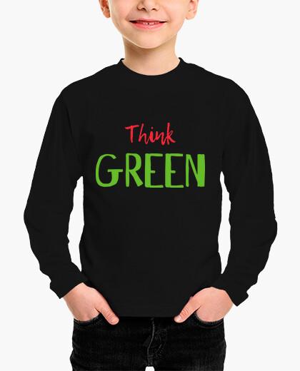 Ropa infantil THINK GREEN