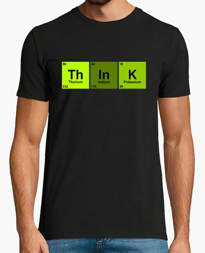 Camiseta think green