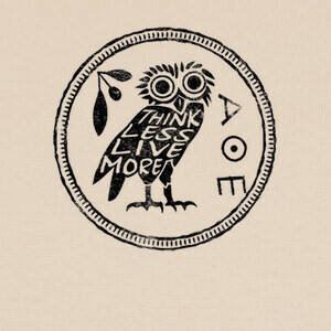 Camisetas Think Less Live More