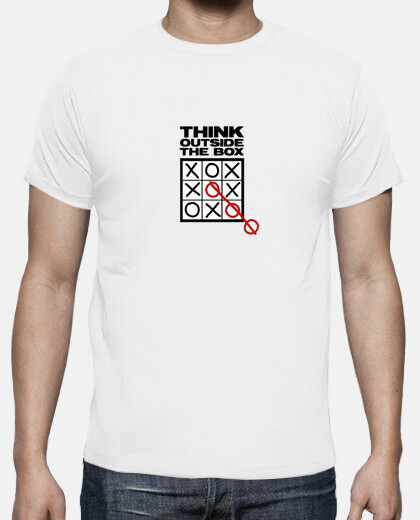Camisetas think outside the box - Friki