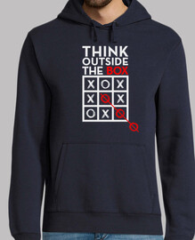 think outside the box white