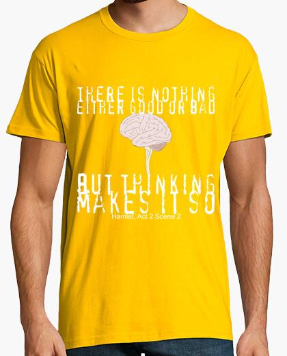 Camiseta Thinking, pensamiento